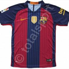 Tricou Nike FC Barcelona MESSI model 2016-2017 HOME SUPER Calitate - Tricou barbati, Marime: L, Culoare: Bleumarin, Maneca scurta, Poliester