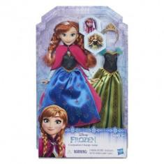 Papusa Disney Frozen Coronation Change Anna - Puzzle Hasbro