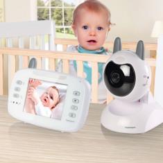 Aparat Monitorizare Video pentru Bebeluşi TopCom KS4246 - Baby monitor