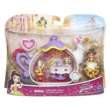 Jucarie Disney Princess Little Kingdom Belle'S Enchanted Dining Room Set