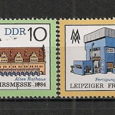 D.D.R.1984 Targul de primavara Leipzig CD.1270 - Timbre straine, Nestampilat