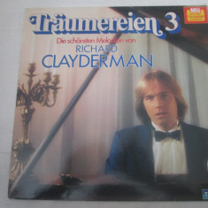 Richard Clayderman – Träumereien 3 _ vinyl, LP, Germania - Muzica Clasica, VINIL