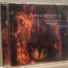 APOCALYPTICA - INQUISITION SYMPHONY(1998/POLYGRAM/GERMANY) - CD/ORIGINAL - Muzica Rock universal records