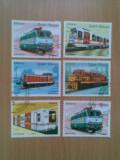 GUINE BISSAU (3950) - LOCOMOTIVE - timbre stampilate, Stampilat