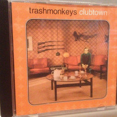 TRASHMONKEYS - CLUBTOWN (2001/ACID JAZZ/UK) - CD/ORIGINAL - Muzica Jazz