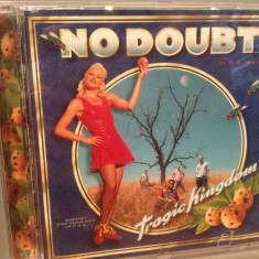NO DOUBT - TRAGIC KINGDOM (1995/INTERSCOPE/USA) - CD/ORIGINAL - Muzica Pop emi records