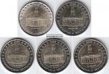 2009 GERMANIA 5 x 2 euro comemorativ ADFGJ - SAARLAND, UNC, Europa, Cupru-Nichel