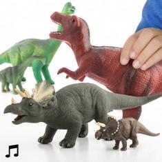 Dinozaur și Puiuţ cu Sunet - Figurina Dinozauri