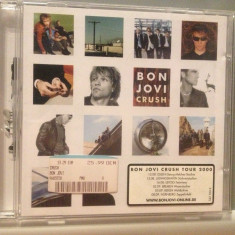 BON JOVI - CRUSH (2000/ISLAND REC/GERMANY) - CD /ORIGINAL - Muzica Rock universal records