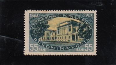 ROMANIA 1956  LP 410 - 90 ANI DE LA INFIINTAREA ACADEMIEI ROMANE  MNH foto