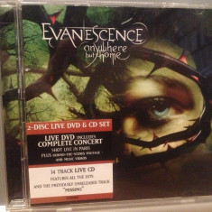 EVANESCENCE - ANYWHERE BUT HOME (2004/SONY/AUSTRIA) - CD+DVD BOX SET/ORIGINAL - Muzica Rock sony music