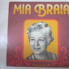 Mia Braia – Romanțe II _ vinyl, LP, Romania - Muzica Lautareasca electrecord, VINIL