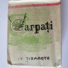 PACHET COLECTIE TIGARI CARPATI ANII 70 - Pachet tigari