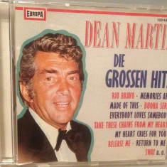 DEAN MARTIN - GREATEST HITS (1990/MILLER/GERMANY) - CD APROAPE NOU /ORIGINAL - Muzica Jazz Altele