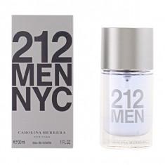 212 MEN edt vaporizador 30 ml - Parfum barbati Carolina Herrera, Apa de toaleta