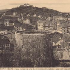 BRASOV, CIRCULATA OCT.1916, POSTA GERMANA - Carte Postala Transilvania 1904-1918, Printata