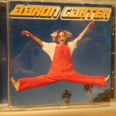 AARON CARTER - ALBUM (1997/SONY/GERMANY) - CD - CA NOU ! /ORIGINAL - Muzica Pop sony music