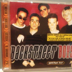BACKSTREET BOYS - ALBUM (1996/ZOMBA/GERMANY) - CD APROAPE NOU /ORIGINAL - Muzica Pop ariola
