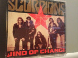 SCORPIONS - WIND OF CHANGE - MAXI SINGLE - (1990/POLYGRAM/GERMANY) - CD/ORIGINAL