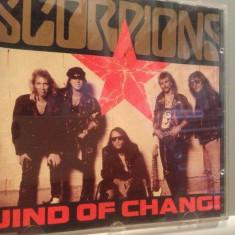 SCORPIONS - WIND OF CHANGE - MAXI SINGLE - (1990/POLYGRAM/GERMANY) - CD/ORIGINAL, universal records