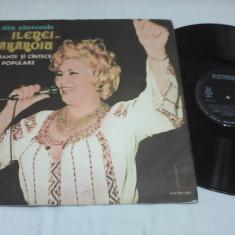 DISC VINIL ILEANA SARAROIU ROMANTE SI CANTECE POPULARE - Muzica Populara