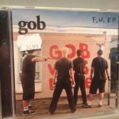 GOB - F.U. EP (2002/NETTWERK/CANADA) - CD/ORIGINAL - Muzica Rock Altele