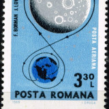 "Romania 1969 LP 692 - serie nestampilata MNH ""Cosmos - Apollo 8"""" - Timbre Romania"