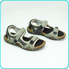 DE FIRMA → Sandale comode, aerisite, PIELE, calitate RIEKER → barbati | nr. 40 - Sandale copii Rieker, Culoare: Din imagine, Baieti, Piele naturala