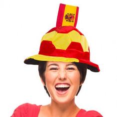 Pălărie Minge de Fotbal cu Steagul Spaniei în Relief - Sepca/Palarie