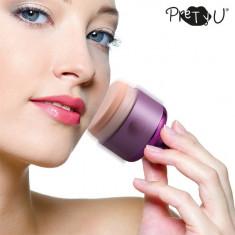 Puf de Pudră Electric Pretty U - Pensula make-up