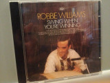 ROBBIE WILLIAMS - SWING WHEN YOU'RE WINNING (2001/EMI/HOLLAND) - CD/ORIGINAL, emi records