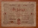 UNGARIA 5 FORINT 1848