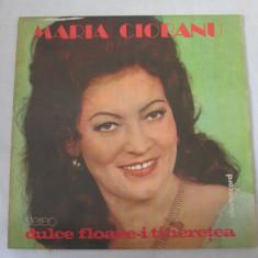 Maria Ciobanu – Dulce Floare-i Tinerețea _ vinyl, LP, Romania - Muzica Populara electrecord, VINIL
