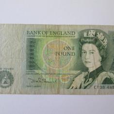 Anglia 1 Pound 1971 - bancnota europa