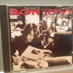 BON JOVI - THE BEST OF - CROSSROAD (1994/MERCURY/FRANCE) - CD/ORIGINAL - Muzica Rock universal records