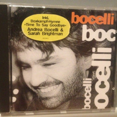 ANDREA BOCELLI - TIME TO SAY GOODBYE(1995/POLYDOR/UK) - CD APROAPE NOU/ORIGINAL, universal records