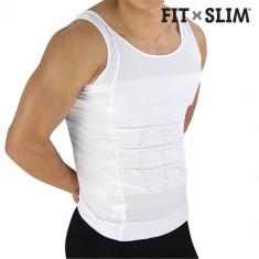 Tricou Compresie pentru Bărbaţi Fit X Slim - Maiou barbati, Marime: M, L, XL