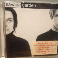 SAVAGE GARDEN - ALBUM (1997/COLUMBIA REC/GERMANY) - CD /ORIGINAL - Muzica Pop