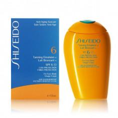 Shiseido - TANNING emulsion SPF6 150 ml - Protectie solara