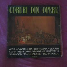 Vinil coruri din opere - Muzica Opera electrecord