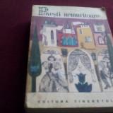 POVESTI NEMURITOARE 3 1966 - Carte de povesti