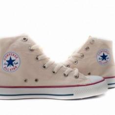Bascheti Converse All Star crem - Tenisi barbati, Marime: 40, 42, Textil