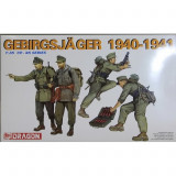 + Macheta 1/35 Dragon 6345 - German Gebirsjager Soldiers 1940-1941 +