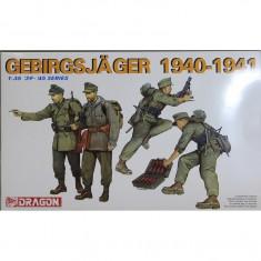 + Macheta 1/35 Dragon 6345 - German Gebirsjager Soldiers 1940-1941 +