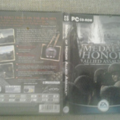 Medal of Honor - Allied Assault - PC - Joc PC Electronic Arts, Shooting, 16+, Single player