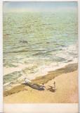 Bnk cp Vasile Roaita - Pe plaja - circulata, Printata, Eforie