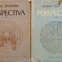 PERSPECTIVA, VOL. I - II de HORIA TEODORU, 1968 - Carte Arhitectura