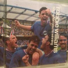ROBBIE WILLIAMS - SING WHEN YOU'RE WINNING (2000/CHRYSALIS/UK) - CD/ORIGINAL - Muzica Pop emi records