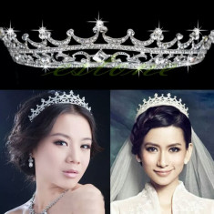 Diadema / tiara / coronita mireasa cu cristale tip Swarovski - Tiare mireasa