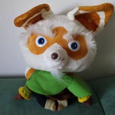 Jucarie plus Master Shifu din Kung Fu Panda, 27cm Big Headz Drem Works Animation - Jucarii plus